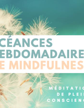 Mercredi midis : Méditation de pleine conscience, Lyon 2e – 2018/19 Trimestre 2