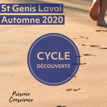 Cycle découverte en 9 semaines, Automne 2020