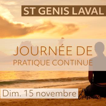 St Genis Laval – Journée de pratique continue, Novembre 2020
