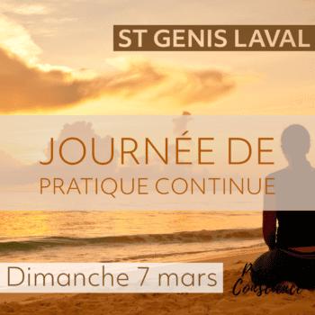 St Genis Laval – Journée de pratique continue, Mars 2021