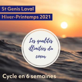 Cycle en 6 semaines – Les qualités illimitées du cœur, Hiver 2021
