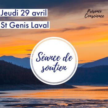 Séance de soutien – Jeudi 29 avril 2021, St Genis Laval