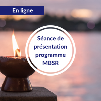 Séance de présentation cycle MBSR – Automne 2021- En ligne